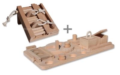 Dogtower Hundespielzeug Set 3