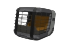 4Pets Dog Caree Transportbox Smoked Pearl