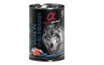 alpha spirit Dog Dose Salmon with Blueberries