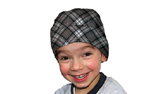 Aqua Coolkeeper Kopftuch Cooling Bandana Kids, scottish gray