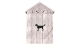 Bailey and Friends Key Cupboard Black Dog Schlüsselkasten