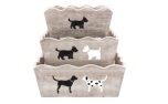 Bailey and Friends Set of Three Nesting Boxes
