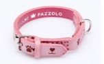 Cane Pazzolo Leather Collar Pink