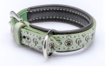 Cane Pazzolo Leather Collar Tender Cp Mint