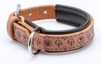 Cane Pazzolo Leather Collar Tender Cp Wood