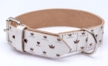 Cane Pazzolo Luxury Dog Collar Silver