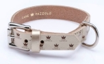 Cane Pazzolo The Passion Crown Dog Collar Gold