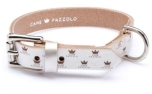 Cane Pazzolo The Crown Dog Collar Silver