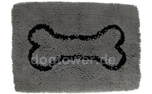 Dirty Dog Doormat Hundematte, grau