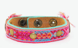 DWAM Dog with a mission Armband Bracelet Rosa
