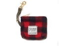 Found My Animal Buffalo Plaid Kotbeutelspender