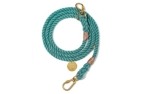Found My Animal Teal Up-Cycled Rope verstellbare Hundeleine