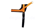 Wolters Geschirr Soft & Safe reflex, orange/schwarz