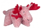 Hugglehounds Cosy Cottage Moose Squooshie Plush