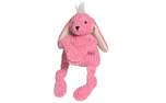 HuggleHounds Knotties Woodland Knotties Bunny, rosa