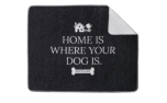 Hundedecke Home Is Where Your Dog Is