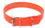 Hundehalsband Biothane Classic Gold-Orange