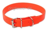 Hundehalsband Biothane Orange