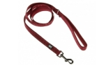 Hurtta Casual Reflective Leash, dunkelrot/lingon