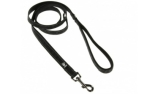 Hurtta Casual Reflective Leash, schwarz/raven