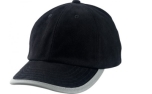James & Nicholson Reflex Cap, black
