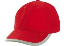 James & Nicholson Reflex Cap, red