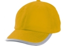 James & Nicholson Reflex Cap, yellow