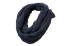 James & Nicholson Zopfmuster Loopschal, navy