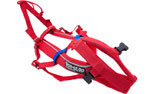 Non Stop Dogwear Combined Harness, rot