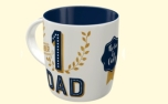 Nostalgic Art Tasse Number 1 Dad