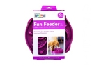 Outward Hound Fun Feeder Slo Bowl purple