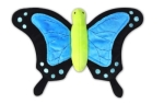 P.L.A.Y. Pet Lifestyle and You Plush Toy Butterfly, Blue/Black