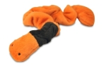 P.L.A.Y. Pet Lifestyle and You Plush Toy Earthworm, Orange/Brown
