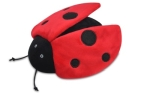 P.L.A.Y. Pet Lifestyle and You Plush Toy Ladybug, Red/Black