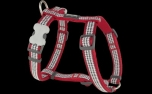 Red Dingo Nylon Hundegeschirr, Fang It Red
