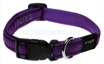 Halsband Rogz Beltz, Chrome Purple