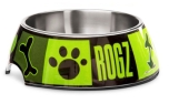 Rogz Bubble Bowlz Futternapf, Lime Juice
