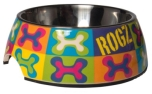 Rogz Bubble Bowlz Futternapf, Pop Art