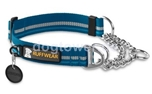 Ruffwear Halsband Chain Reaction, petrolblau