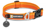 Ruffwear Hoopie Collar Hundehalsband, Orange Sunset