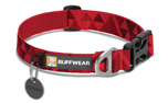 Ruffwear Hoopie Collar Hundehalsband, red butte