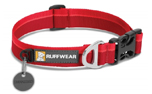 Ruffwear Hoopie Collar Hundehalsband, Red Currant