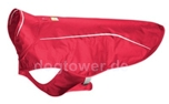 Hundejacke Ruffwear Sun Shower, red currant