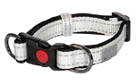 rukka Solid SoftCollar Hundehalsband, weiss