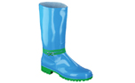 Spirale Gummistiefel New Fashion, azzurro