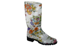 Spirale Gummistiefel New Fashion, weiss