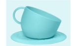 United Pets CUP Dog Bowl inkl. Unterlage Aquamarine