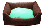 Wolters Cat & Dog Hundebett Kuschel-Lounge Royal Dreams, mocca/mint
