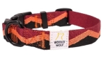Woolly Wolf Peaks Collar Cranberry