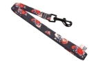 Woolly Wolf Wild Rose Leash